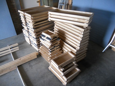 box frames attached
