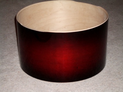 Snare drum: cherry shell